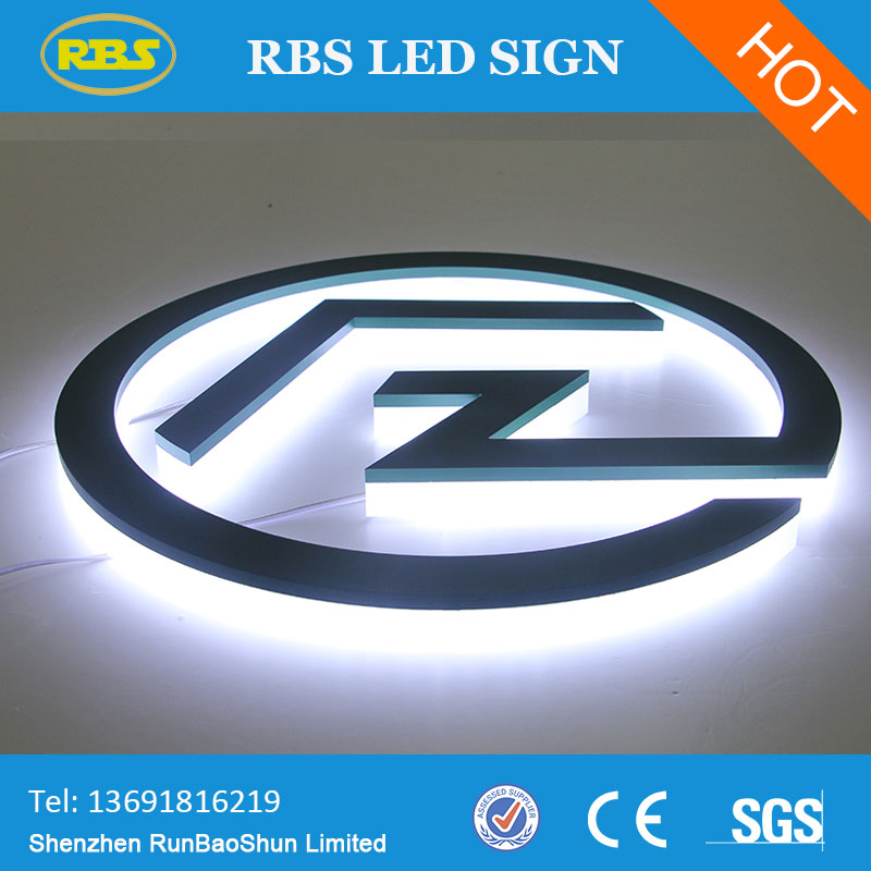 Low Price Customized Light color illuminated window signs
