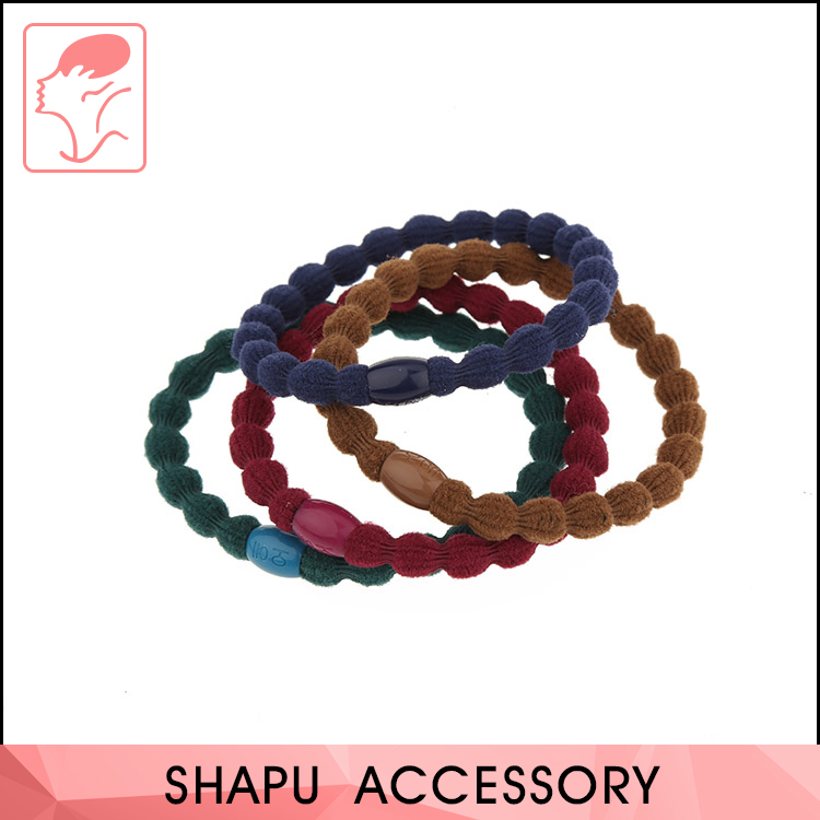 Elastic Hair Ties Thick Hairbands Girl's Hair Ropes
