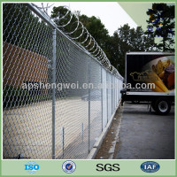 Cheap wholesale galvanzied used chain link fence for sale
