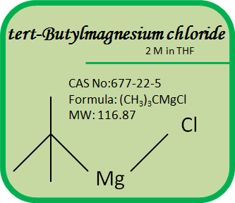 CAS No. 677-22-5 Grignard Reagents- tert-Butylmagnesium chloride 2M in THF