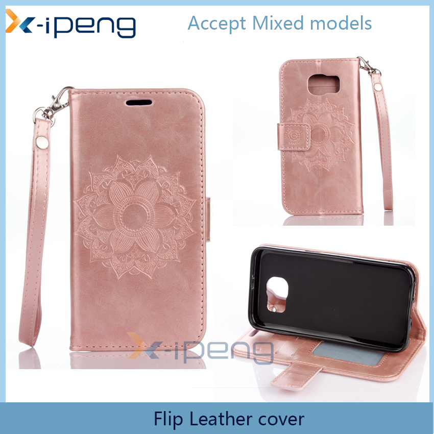mobile cases new style 2016 phone accessories Crazy horse PU Leather case flip cover for sony xperia m