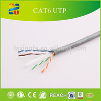 China Hangzhou High quality d-link 23awg cat6 lan cable