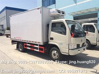 2016 Hot Sale mini refrigerated van truck,Euro III or Euro IV 3-5 ton light freezer trucks for sale