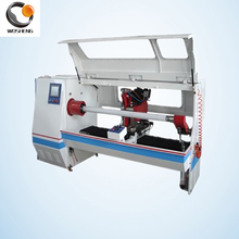 Automatic Single Shaft and Single Blade Adhesive Fabric Tape Cutting Machine with Safety Cover