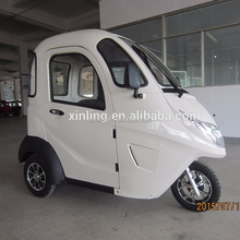 luxury 3 wheel electric scooter car enclosed mobility scooter for passenger