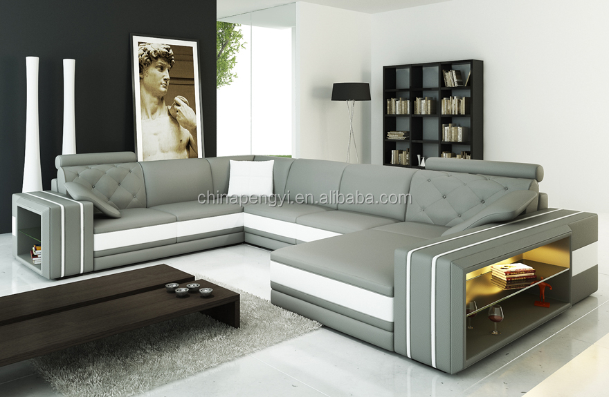 Lounge Suite Living Room Leather Sofa Set Py 4469 Buy Cheap Leather Sofa Se