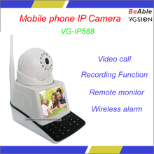 H.264 WIFI PTZ Control Mobile phone Wireless alarm IP Camera