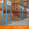 Medium duty warehouse storage pallet automated stacking rack