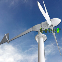 HOT!!! Low RPM Vertical Wind turbine Generator, 2kW Mini Horizontal Wind