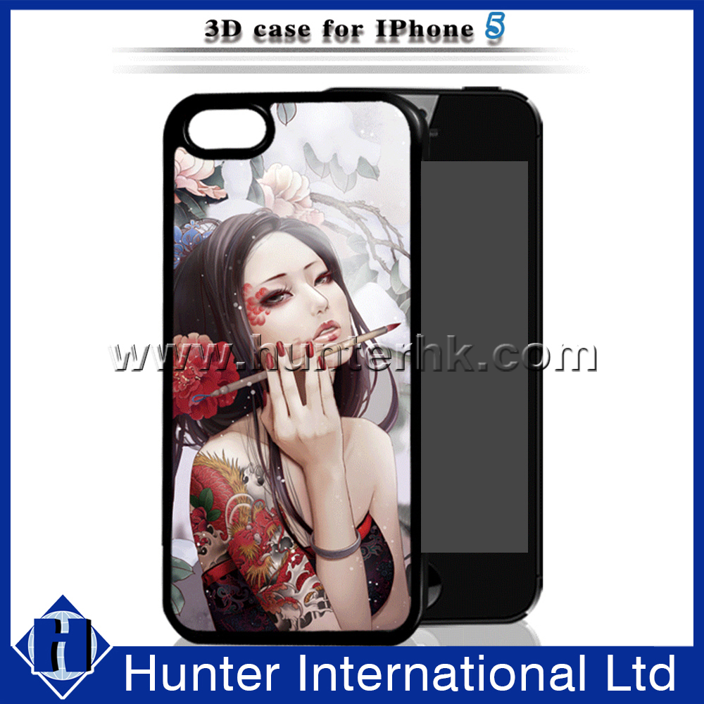 Japan Cartoon Sex Girl 3D Hard Case For 5G