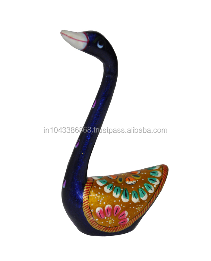 Traditional Home Decorative Handcrafted Metal Love Bird