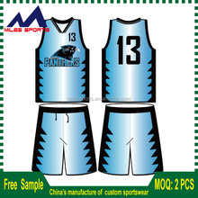 custom dry fit 100% polyester cheap youth basketball uniforms