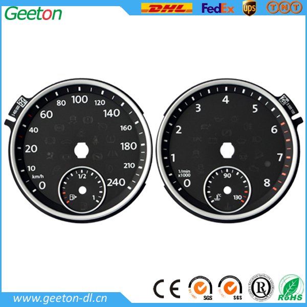 water temperature gauge and fuel gauge for cars