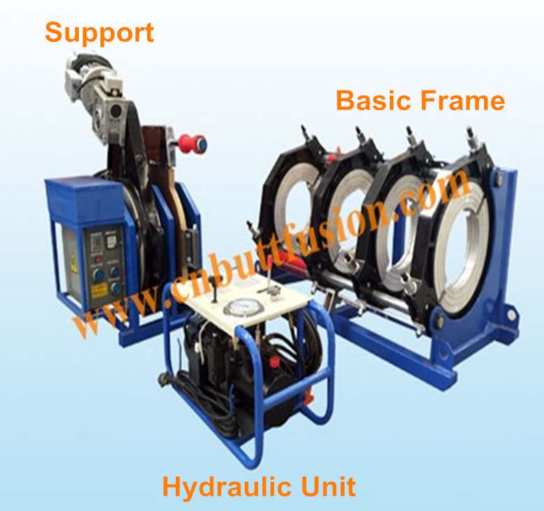 plastic welding RGH630/355 Multiple-angle Fitting Welding Machine