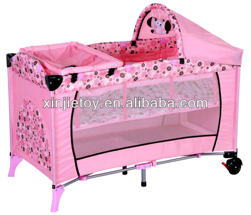 baby cot/folding baby bed/ baby playpen/travel playyard