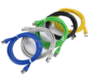 Snagless Booted CAT6A STP RJ45 Ethernet Network Patch Cable