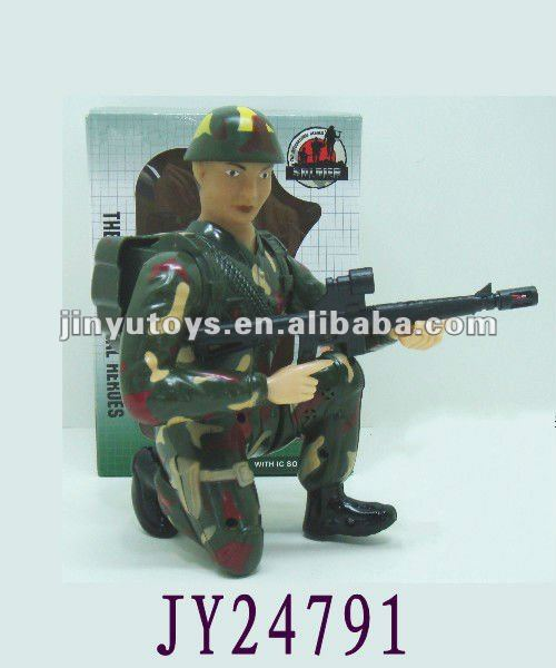 2012 new model toys battery operated toy soldier