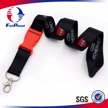 High Quality Custom Sublimated Lanyard Ribbon
