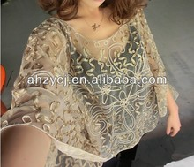 Hotsale new China clothes elegant crochet lace tops blouse smock