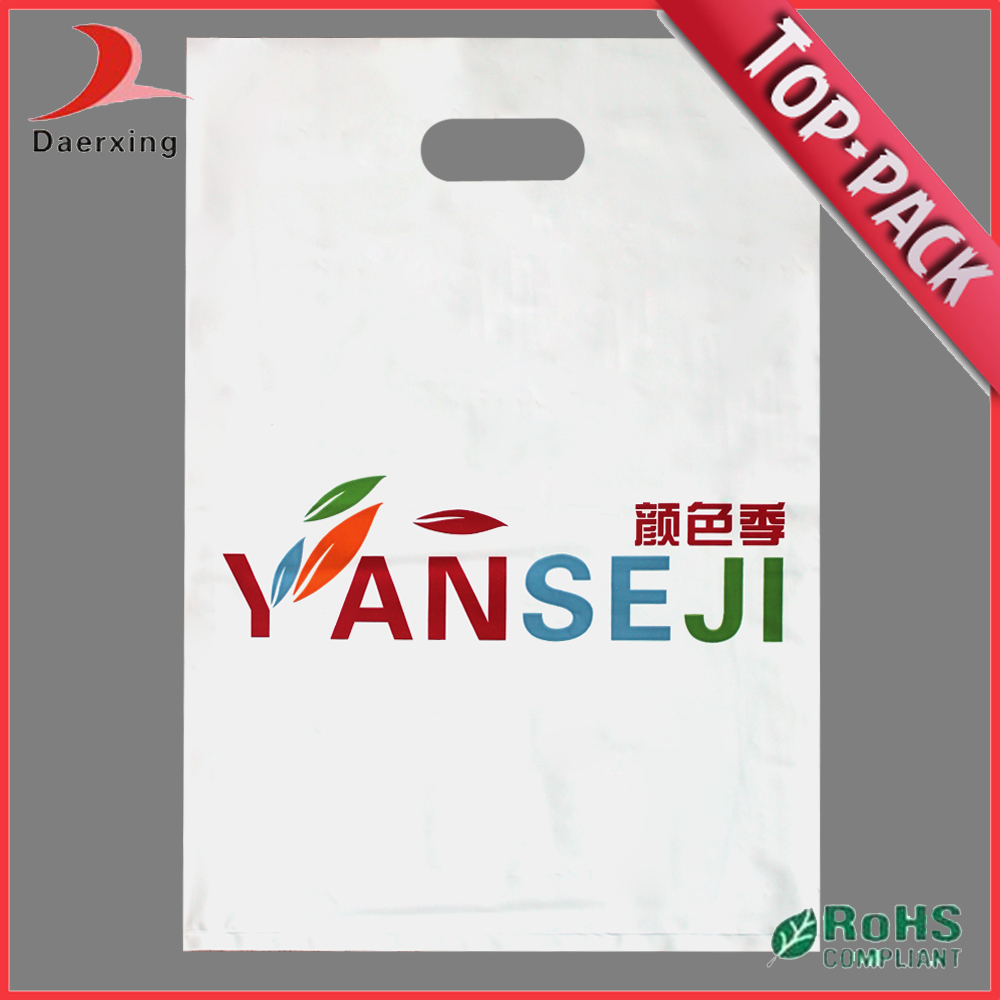 customized made cheap printing polythene plastic bag