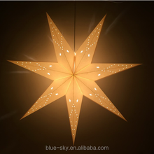 Paper Star Lantern Lampshade for Christmas New Year Party Birthday Home Hanging Decorations