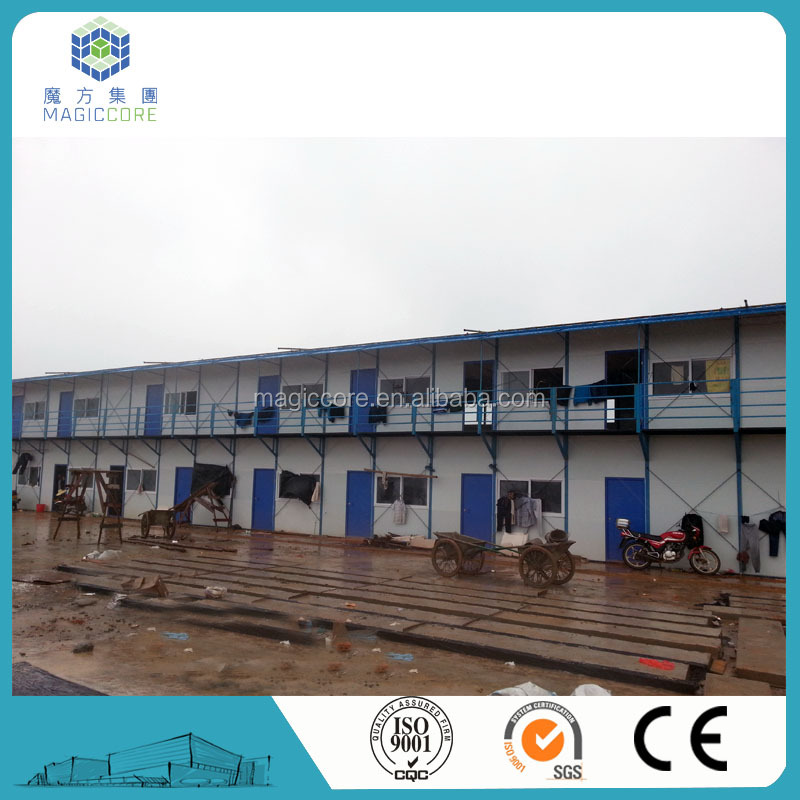 Prefabricated accomodation building prefab worker camp