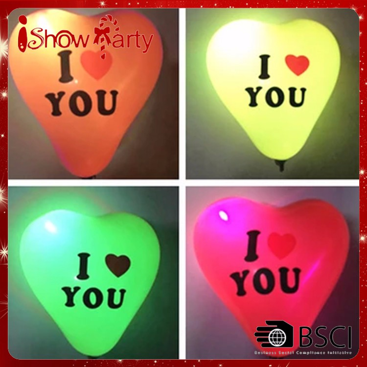 I LOVE YOU Printed Propose Party Balloon