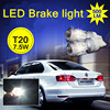 Manufacturer LED turn/ brake signal car lights 500LM T20 3014 SMD car bulb with awesome brightness