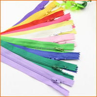 High quality colorful wholesale zipper price/ nylon zipper