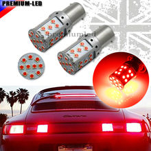 Error Free Brilliant Red 3030 SMD 1156 7506 P21W BA15S 21W LED Bulbs For Tail Lights, Brake Lights