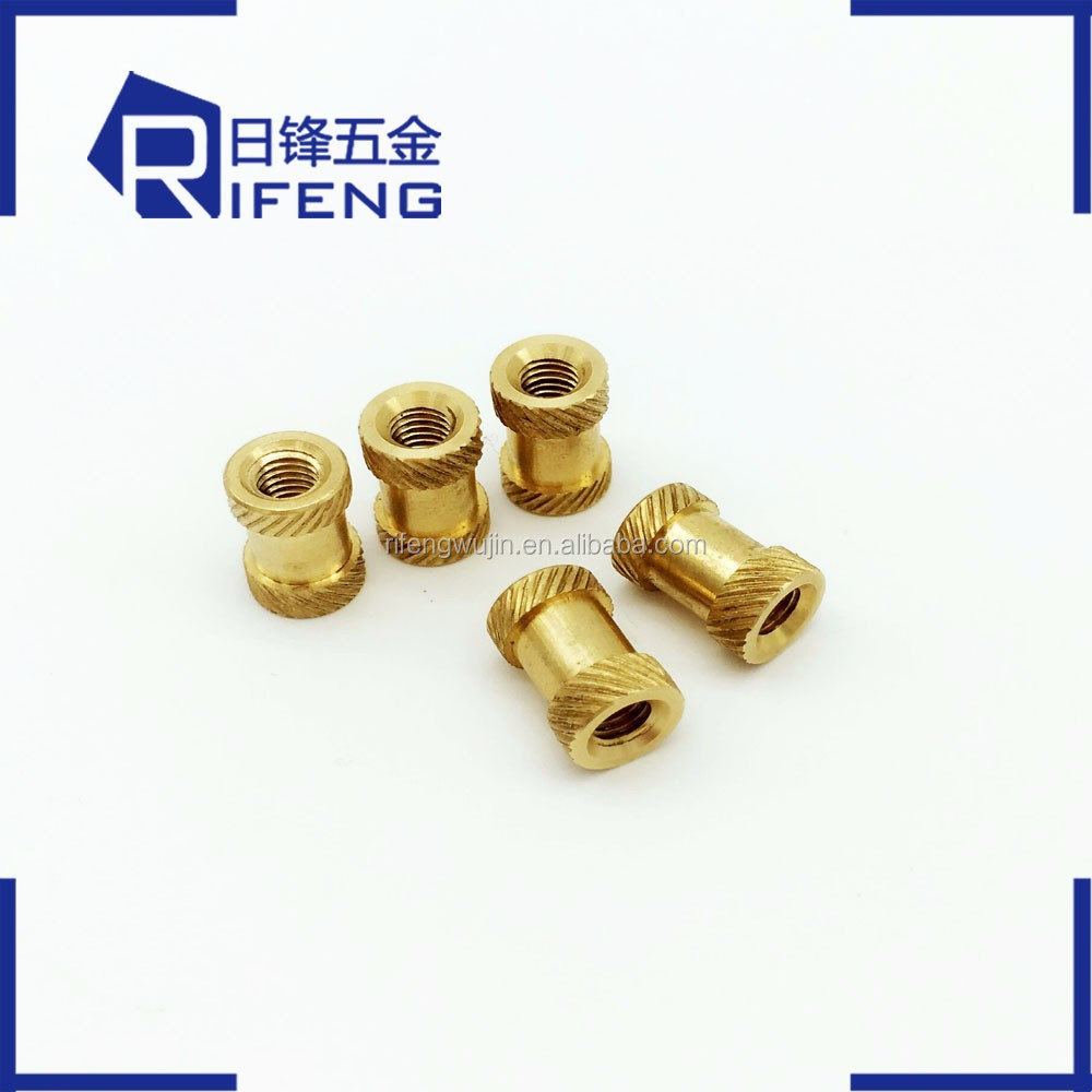 High Quality male female brass threaded insert nut for ppr cpvc pipe fitting