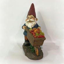 Home and garden decoration resin material lifelike cheap garden gnomes