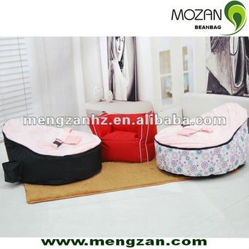 baby beanbag chair with safe harness