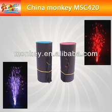 4seconds 2 meters colorful smokeless no smell cold satge fountain for sale for stage use fireworks(MSC420)