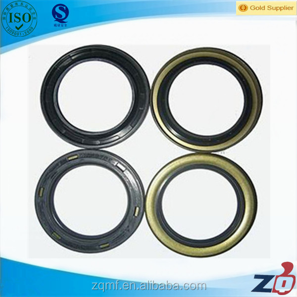 Steel reinforced rubber oil seal for speed changing box
