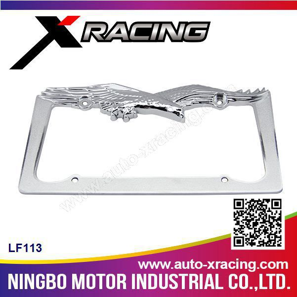 Xracing-LF113 european license plate frame,car license frame,license plate frame for BMW