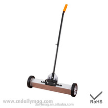 Factory sale Small street sweeper Magnetic Sweeper With Wheels