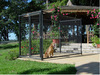 high quality iron fence dog kennel