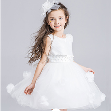 Applique Wholesale Toddler Dresses Party Frocks Online Sale Fashion Girls Dress