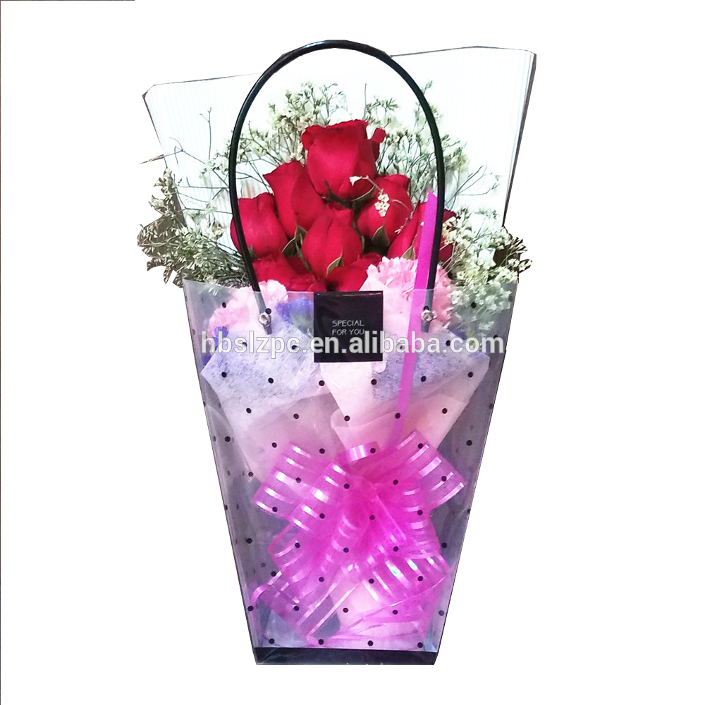 2019 High Quality Waterproof PP Clear Plastic Bag, Recyclable Packaging Bag,OEM Promotional Gift Carrying Bag