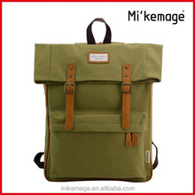 2015 Fashion Canvas Military Backpack