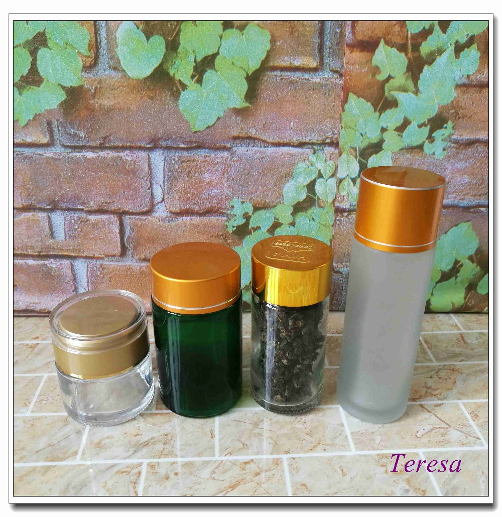50ml 100ml factory supplier empty glass food storage bottle jars