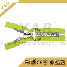 YAB 8# Large Plastic Zipper With Semi Auto Lock Slider