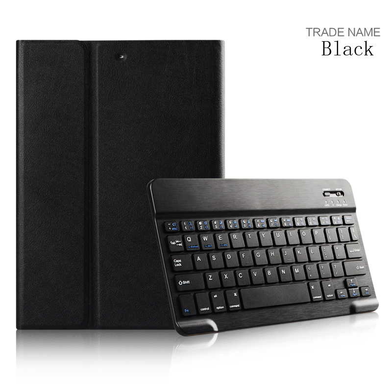 2017 Bluetooth Keyboard Series Folding Stand Smart Leather Cover for ipad PRO 9.7'' cover