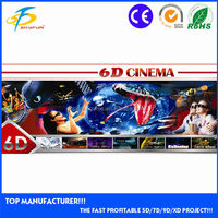 6d cinema/The most profitable investment 6d mini cinema 5d 6d 7d movie theater in China panyu city