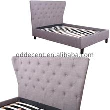 Best price high quality fabric bed for children antique round bed
