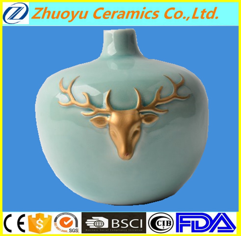 Elegant Decoration Modern Ceramic Vase