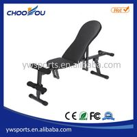 High quality latest portable curved reverse sit up bench