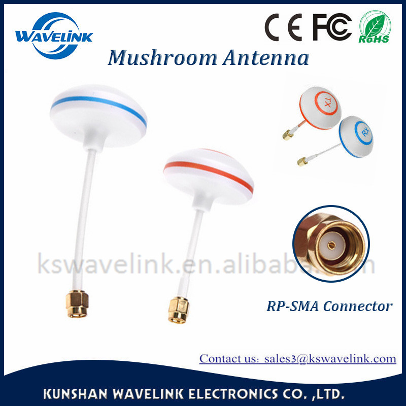 Mushroom Antenna for FPV Signals Receiving and Transmitting GSM Antenna with omni cycle