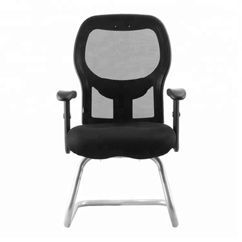 High quality middle back office meeting mesh chairs black